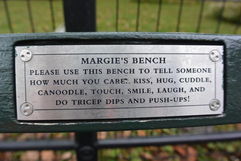 Fietsreis margies bench - 1